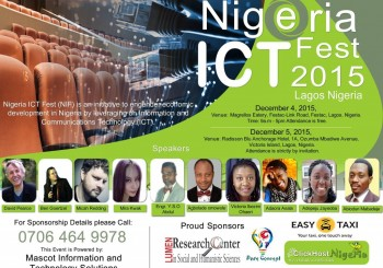 LUMEN Research Center in Social & Humanistic Sciences – sponsor in publication of Nigeria ICT Fest 2015